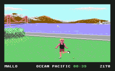California Games C64 08