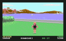 California Games C64 09