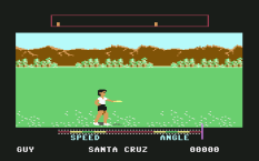 California Games C64 21