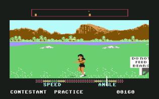 California Games C64 22