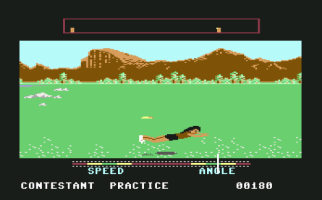 California Games C64 23