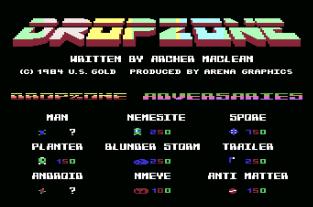 Dropzone C64 01