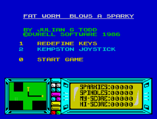 Fat Worm Blows A Sparky ZX Spectrum 02