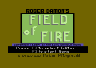 Field of Fire C64 01