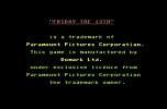 Friday the 13th C64 02