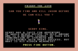 Friday the 13th C64 04