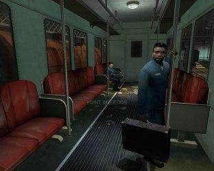 You begin Half-Life 2 on a train.