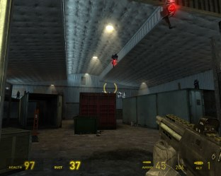 Even dull locations are memorable in Half-Life 2.