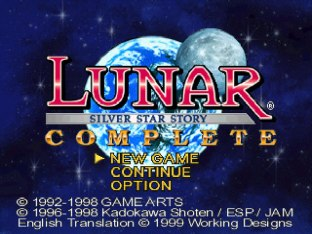 Lunar - Silver Star Story Complete PS1 01
