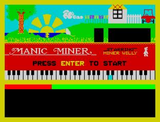 Manic Miner ZX Spectrum 01