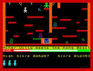 Manic Miner ZX Spectrum 09