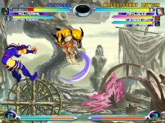 Marvel vs Capcom 2 Dreamcast 11