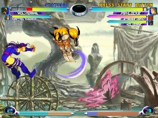 Marvel vs Capcom 2 Dreamcast 11
