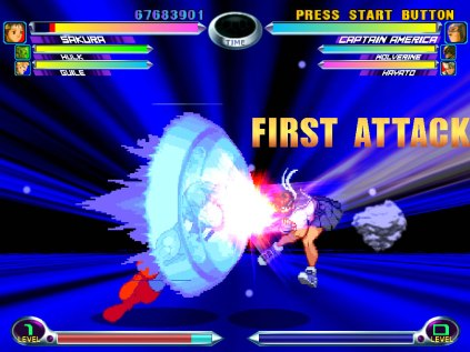Marvel vs Capcom 2 Dreamcast 12