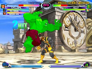 Marvel vs Capcom 2 Dreamcast 20