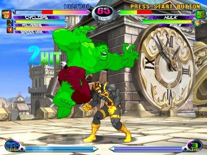 Marvel vs Capcom 2 Dreamcast 20