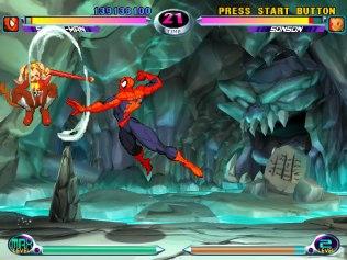 Marvel vs Capcom 2 Dreamcast 22