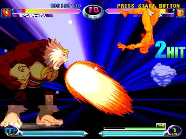 Marvel vs Capcom 2 Dreamcast 23
