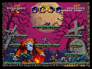 Nightmare in the Dark Neo Geo King of Grabs 034