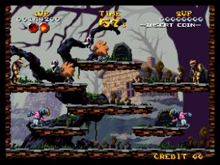 Nightmare in the Dark Neo Geo King of Grabs 045