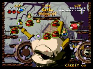 Nightmare in the Dark Neo Geo King of Grabs 075