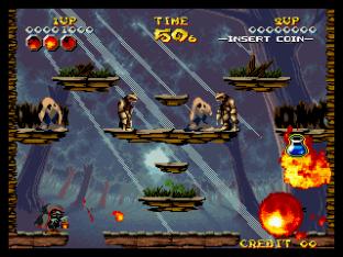 Nightmare in the Dark Neo Geo King of Grabs 100