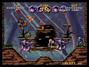 Nightmare in the Dark Neo Geo King of Grabs 111