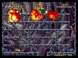 Nightmare in the Dark Neo Geo King of Grabs 130
