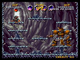 Nightmare in the Dark Neo Geo King of Grabs 144