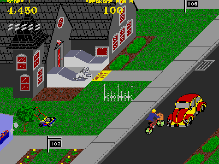 Paperboy, Arcade – The King of Grabs