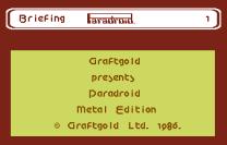 Paradroid Metal Edition C64 1986 02
