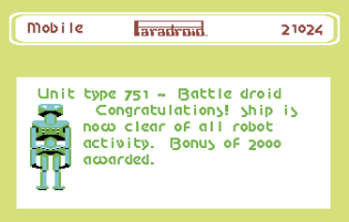 Paradroid Metal Edition C64 1986 19