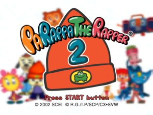 PaRappa the Rapper 2 PS2 01