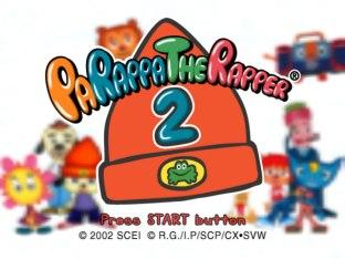 PaRappa the Rapper 2 PS2 01