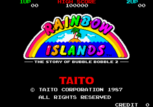 Rainbow Islands Arcade 01
