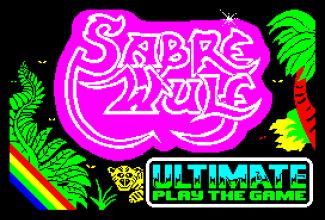Sabre Wulf ZX Spectrum 01