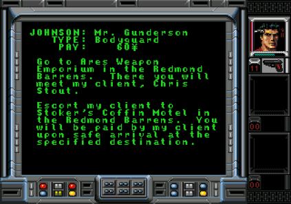 Shadowrun Megadrive 09