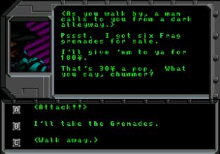 Shadowrun Megadrive 12