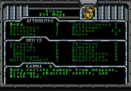 Shadowrun Megadrive 42
