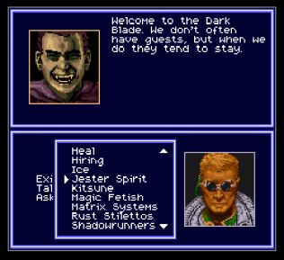 Shadowrun SNES 33