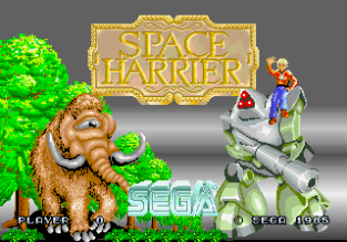 Space Harrier Arcade 01
