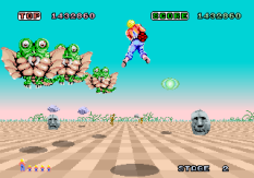 Space Harrier Arcade 10