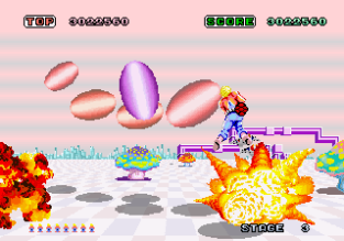 Space Harrier Arcade 12