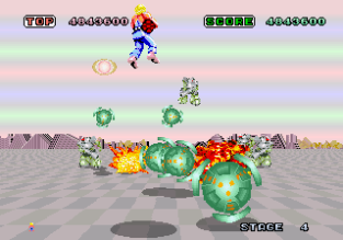 Space Harrier Arcade 20