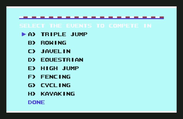 Summer Games 2 C64 28