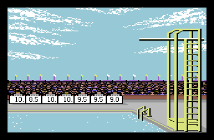 Summer Games C64 12