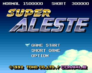Super Aleste SNES 01