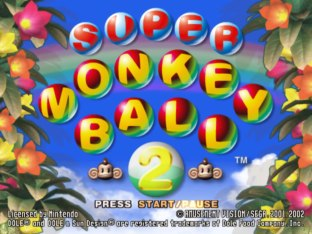 Super Monkey Ball 2 Gamecube 01