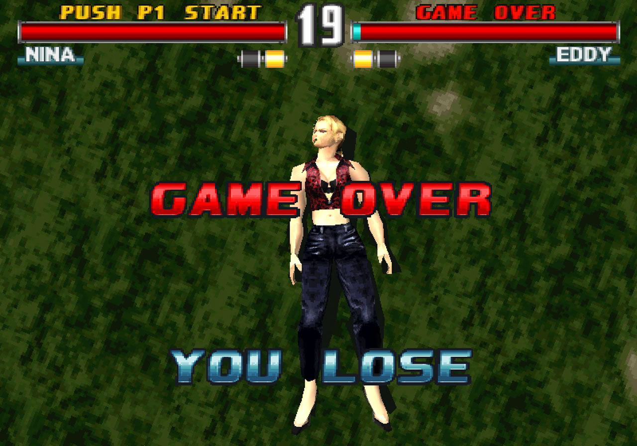 Tekken 3 Ps1 15 The King Of Grabs