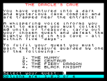 The Oracle's Cave ZX Spectrum 02